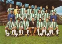 Bohemians Prague postcard, 1973/74