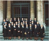 Rome, canonization of Anežka Česká, November 13, 1989