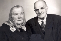 Jan Irving's parents - mother Marie and stepfather Josef, photographed in 1970