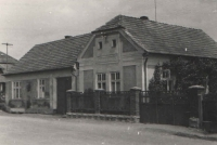 The Irving house with the next-door house that had belonged to a Mrs. Kozáková, which Jan had bought for his parents so that they would not need to squeeze into one room. The gardens then were joined. In the first half of the 1950's, the secret police forced Jan to sell the house so that it would not be forcibly confiscated without any claim to compensation because he had his own place to live and as a class enemy, he was not allowed to own a property. So, it was bought by the family of a Mr. Čech, whose daughter later married Vlastimil Petržílek and who lived there until her death in 2015. Together, they raised another generation there.