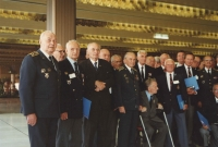 The Congress Centre at Pankrác in Prague again, and a meeting of the Czechoslovak airmen, including those who flew over from the United Kingdom in 1992.