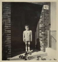 Augustin on September 2, 1945 - the first school day