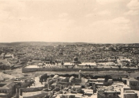 Jerusalem - panoramic view from the Mount of Olives