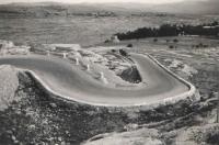 The Seven Sisters road turns near Jerusalem