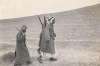 Members of the Desert Guard in Palestina