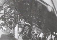 Cockpit of the Wellington airplane