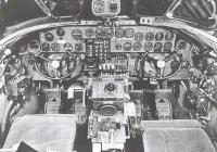 Cockpit of the B-24 Liberator aircraft
