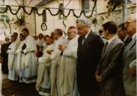Pilgrimage to Velehrad 1985