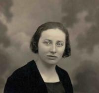 Anežka Navrátilová, her mother