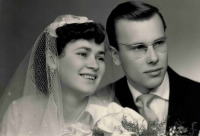 Stanislava with her husband, a wedding photography