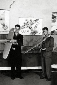 Letecká výstava v Prievidzi v roku 1952