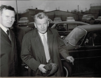 Visit of the Chairman of the National Committee Josef Smrkovský to the Škoda Works, December 5, 1968