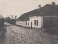 Family farm Pertoltice, February 17, 1933