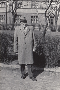 Jan Škramovský, father of Eva Pacovská, Prague, around 1960