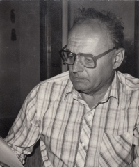 Jaroslav Běl at work