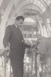 Jaroslav Běl at Skoda Auto