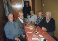 A meeting with classmates in Pilsen 2004