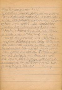 Stránky z deníku pamětníka