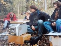 Milena Jelinek on the shooting of film Forgotten Light rok 1995
