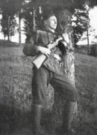 As a partisan in Donovaly
