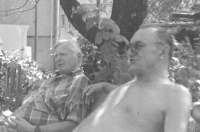 Reunion with partisan B.Boor in 1992