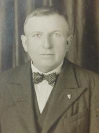 Grandfather František Kojecký