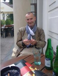 Otec Hubert Kuhn v Praze na Hradčanech