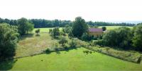 Rodinný dům v Lutzbergu, letecký snímek