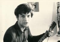 Jiří Zajíc, cca 1971-72