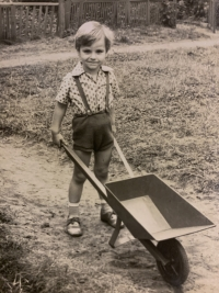 Markus Rindt as a child