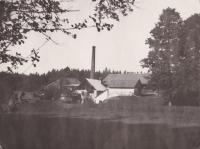 Sklárny Tasice, archiv L. Trpišovské