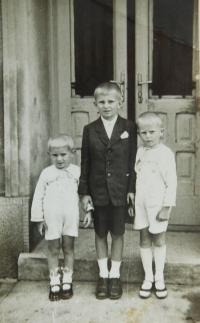 Siblings Miroslav, Vojtěch and Rostislav Frantíkovi