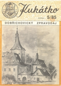 The cover of the magazine Dobřichovické kukátko, which Vladimír Czumalo began publishing in a small circle of supporters in 1985