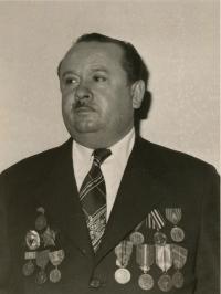 Viera´s husband Milan Šagát