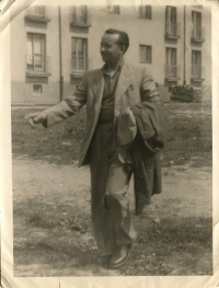 Milan Šagát in his youth