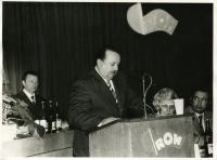 The speech of Milana Šagáta at the ROH meeting