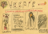 Children's drawing from Vladimír Czumalo´s collection