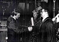 Jiří Bauer at graduation in 1979