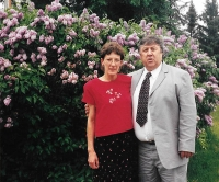 Ján with his wife Jean