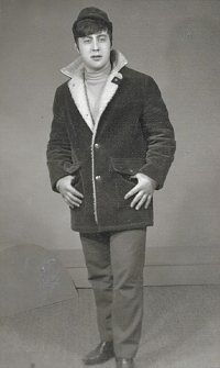 Ján in young age
