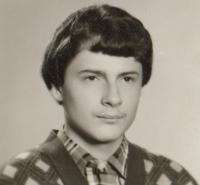 Miroslav Blažek, 15-years-old, 1981
