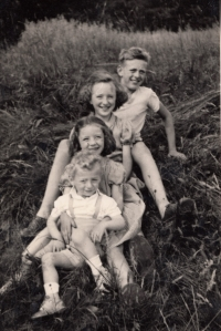 Jan Kreysa se sourozenci