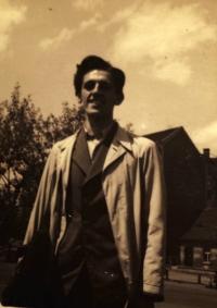 Contemporary photo of K. Hrubý