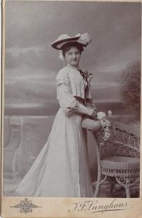Witness´ granny, Mrs. Kučerová, undated