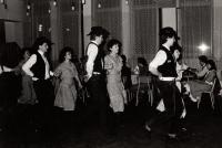 Montana country dance group, Nová Paka, late 1980s