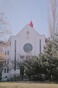 Hus Congregation in Prostějov where Košíčková served as a priestess from 1979-2008