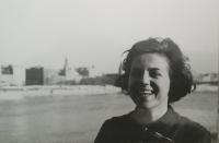 Eva Kamrlová in Bratislava, 1968