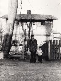 Hlubina Mine colony on Daniel Balabán's photography. Ostrava, mid 1970s