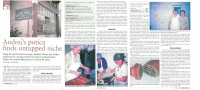 Article about Ján´s bakery