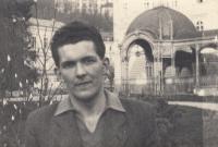 Brother Jan Liška in Karlovy Vary in 1952